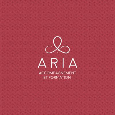 Création du logo et de la charte graphique Aria accompagnement et formation Crest Drôme