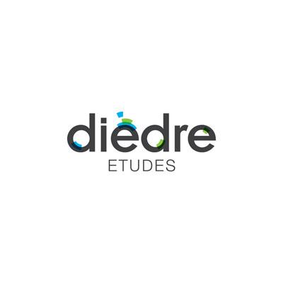 Création logo et charte graphique pour Dièdre bureau d'études Drôme